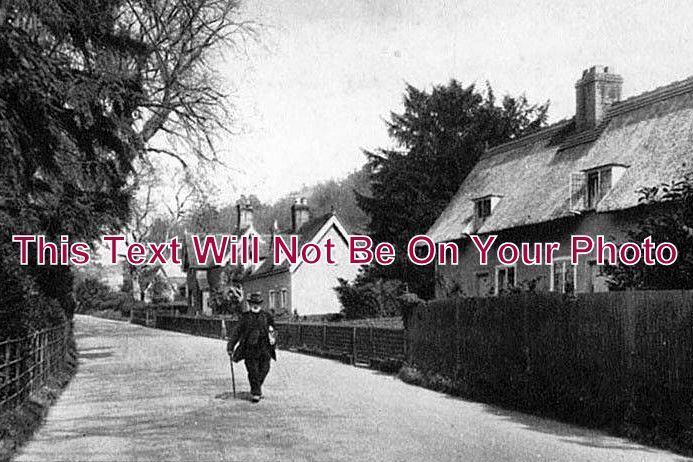 BF 141 - Upper End Of Village, Old Warden, Bedfordshire - 6x4 Photo