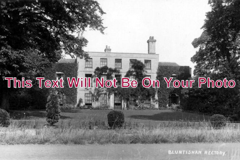 CA 129 - Bluntisham Rectory, Cambridgeshire c1931 - 6x4 Photo