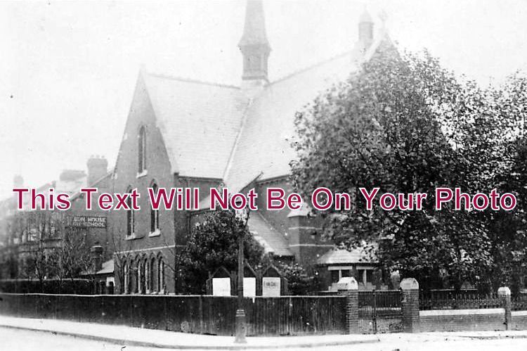 ES 1010 - Allebrook Baptist Chapel, Leytonstone, Essex - 6x4 Photo