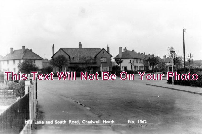 ES 1016 - Mill Lane & South Road, Chadwell Heath, Essex - 6x4 Photo