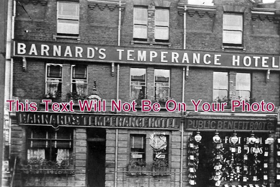 ES 1049 - Barnard's Temperance Hotel, Chelmsford, Essex - 6x4 Photo