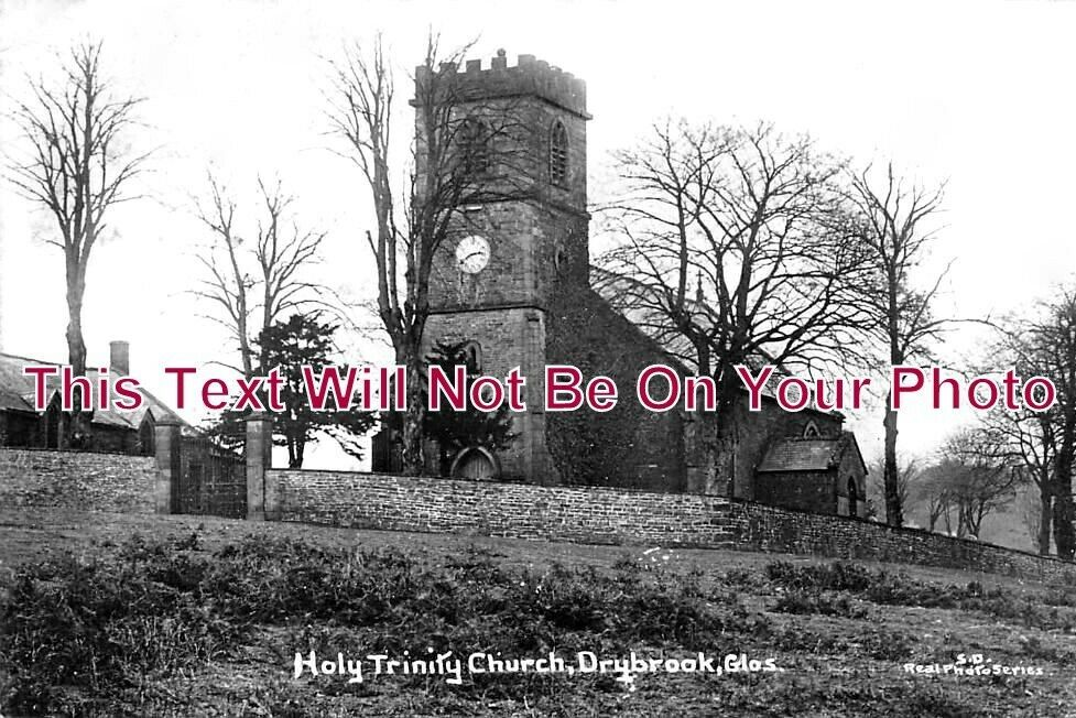 GL 1063 - Holy Trinity Church, Drybrook, Gloucestershire c1916