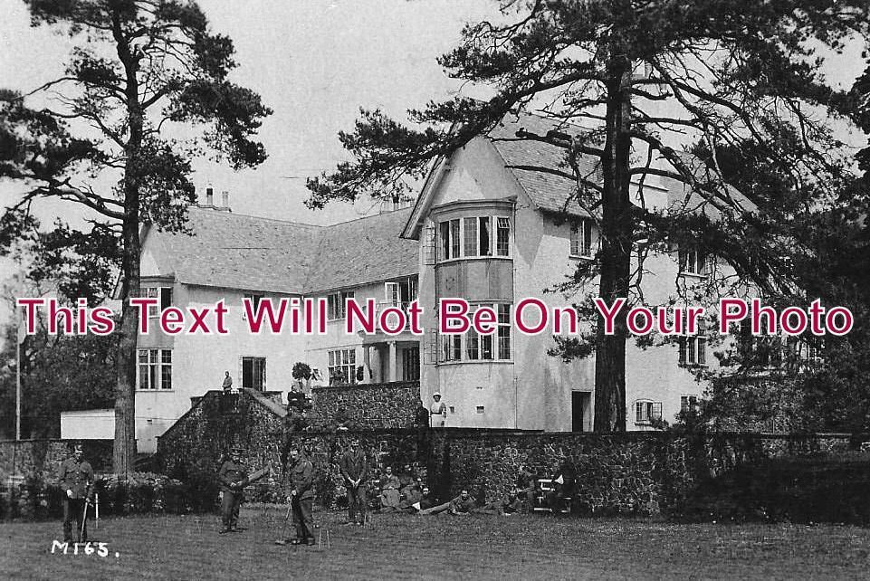 HR 116 - Brand Lodge Hospital, Colwall, Herefordshire c1915 - 6x4 Photo
