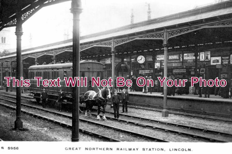 LI 1040 - Lincoln Great Northern Railway Station, Lincolnshire - 6x4 Photo