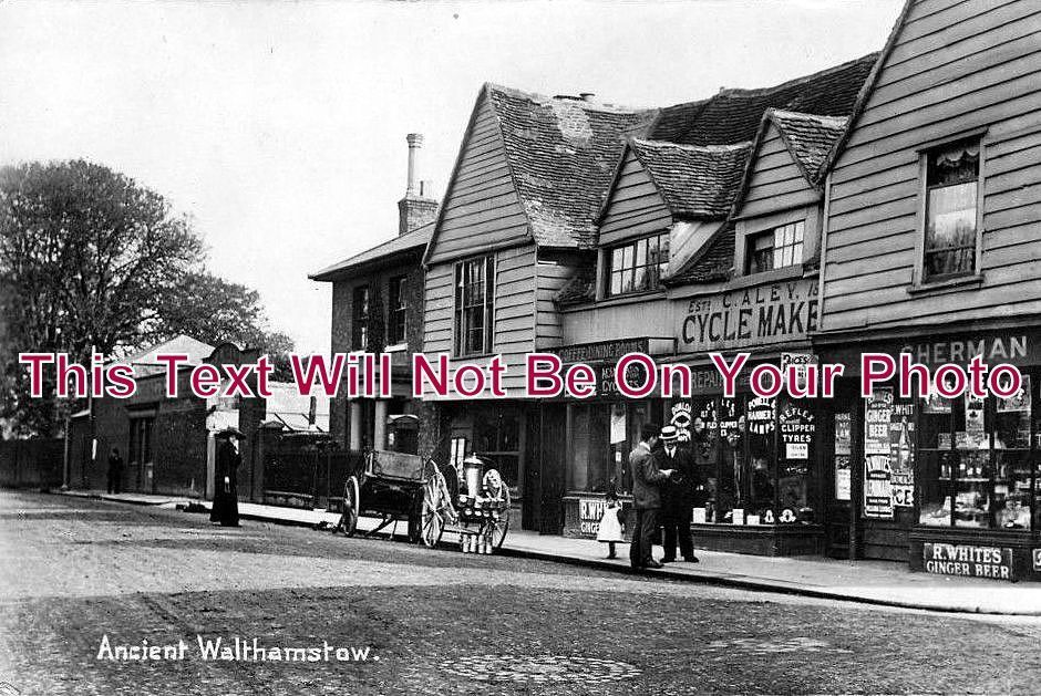 LO 10 - 'Ancient Walthamstow', London c1911 - 6x4 Photo