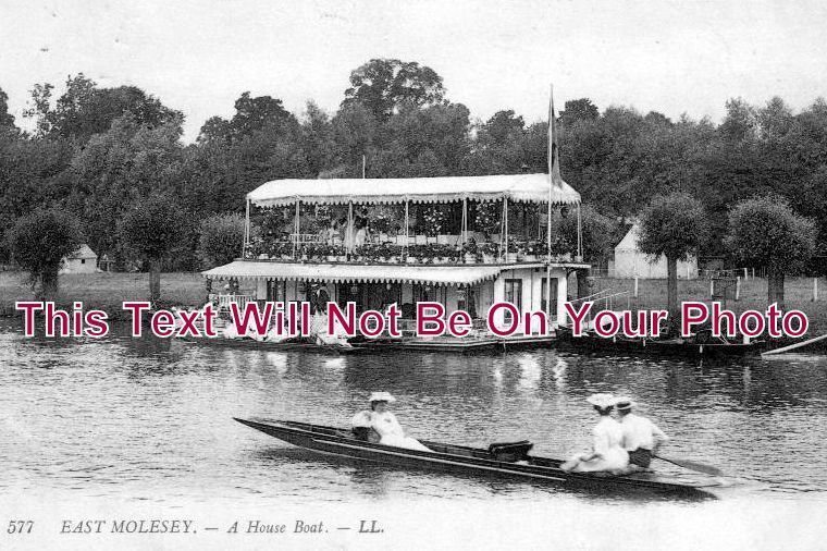 LO 1009 - East Molesey, Surrey, London - 6x4 Photo