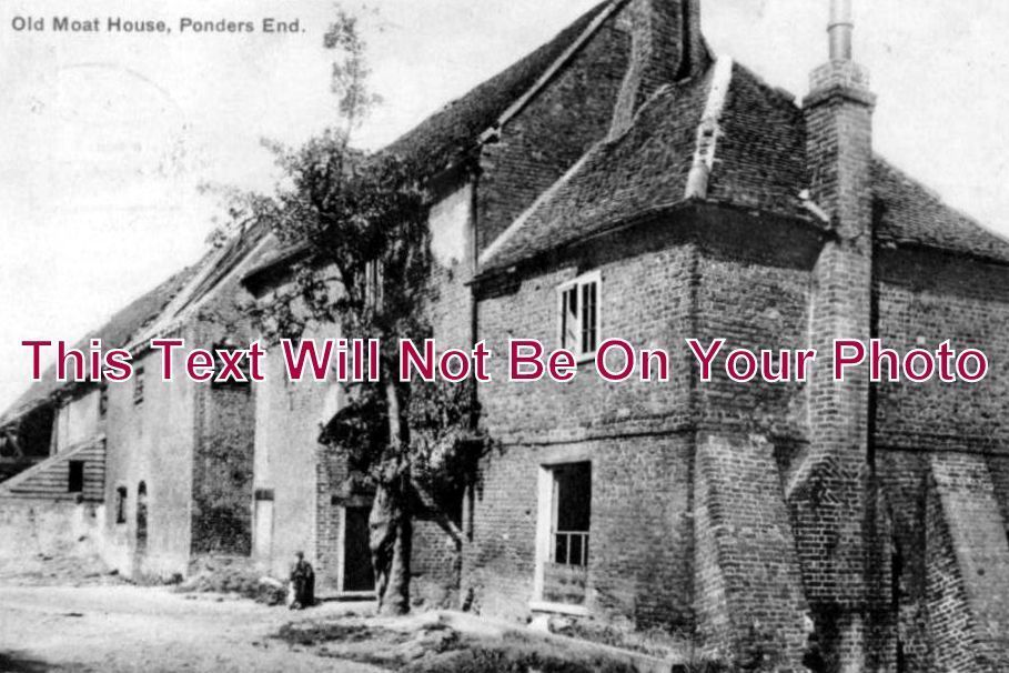 MI 178 - Old Moat House, Ponders End, Enfield, Middlesex c1905 - 6x4 Photo