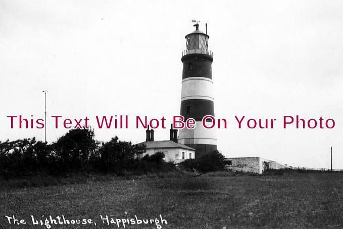 NF 1026 - Happisburgh Lighthouse, Norfolk c1930 - 6x4 Photo