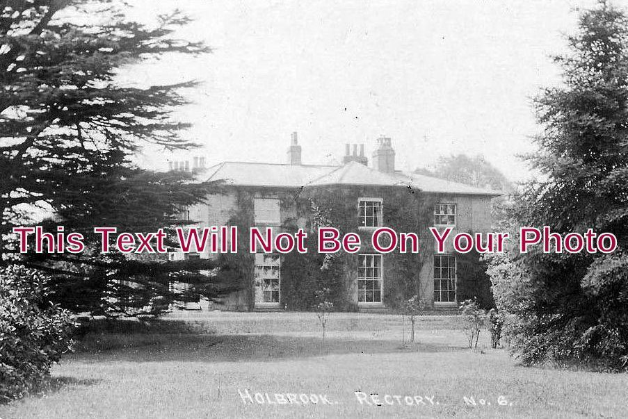SF 1076 - The Rectory, Holbrook, Suffolk c1908 - 6x4 Photo