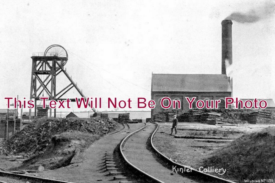 SH 166 - Kinlet Colliery, Shropshire - 6x4 Photo
