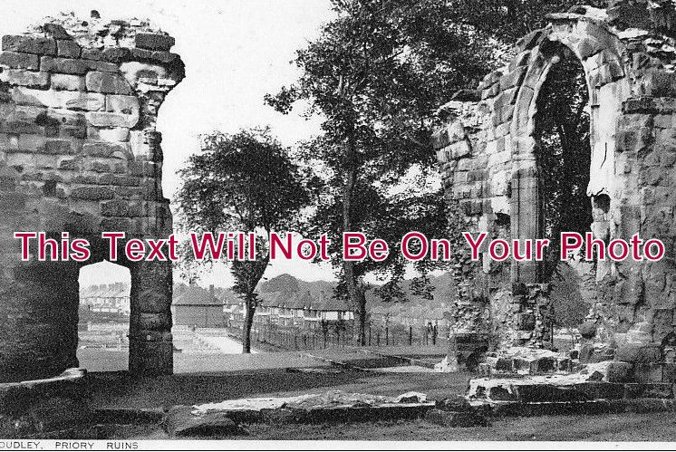 WO 10 - Dudley Priory Ruins, Worcestershire - 6x4 Photo