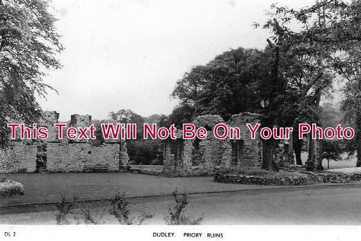 WO 11 - Dudley Priory Ruins, Worcestershire - 6x4 Photo