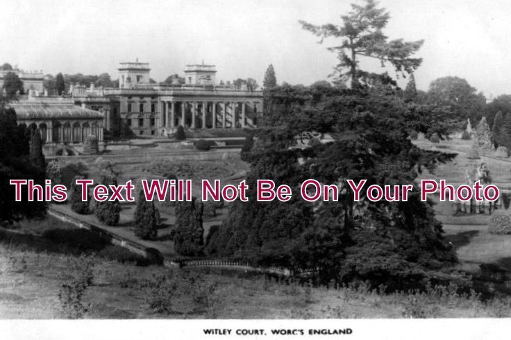 WO 121 - Witley Court, Worcestershire - 6x4 Photo
