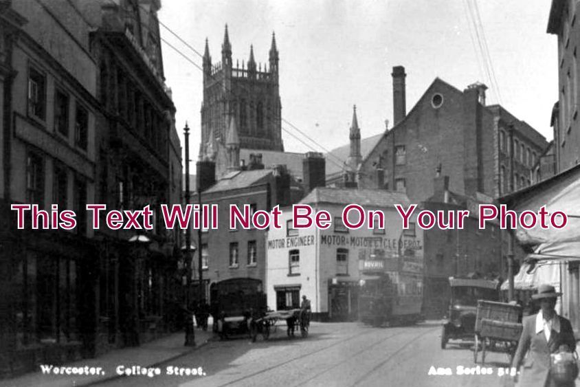 WO 144 - College Street, Worcester, Worcestershire - 6x4 Photo