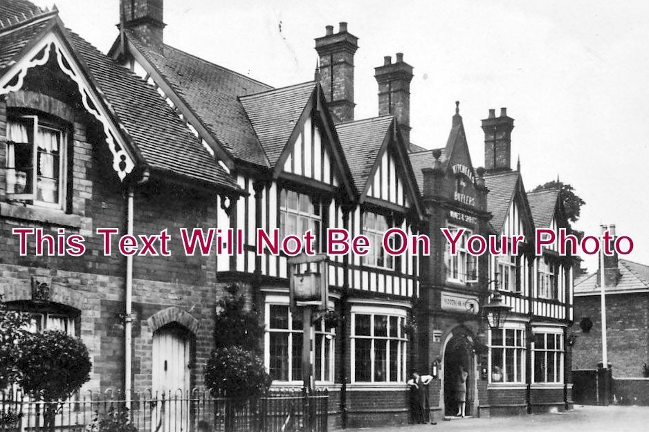 WO 180 - Woodman Hotel, Clent, Worcestershire - 6x4 Photo