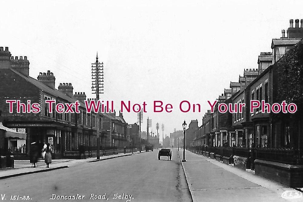 YO 1004 - Doncaster Road, Selby, Yorkshire c1928 - 6x4 Photo