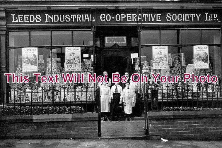YO 1052 - Leeds Industrial Co-Operative Society Shopfront, Luxor Road, Yorkshire